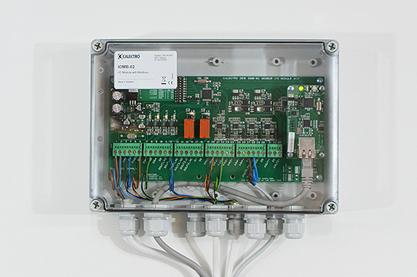 Uppsamling av givarsignaler via I/O-modul
